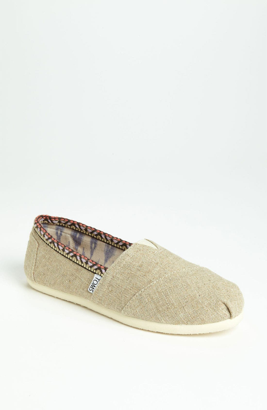 Alternate Image 1 Selected - TOMS 'Classic - Trim' Slip-On (Women)