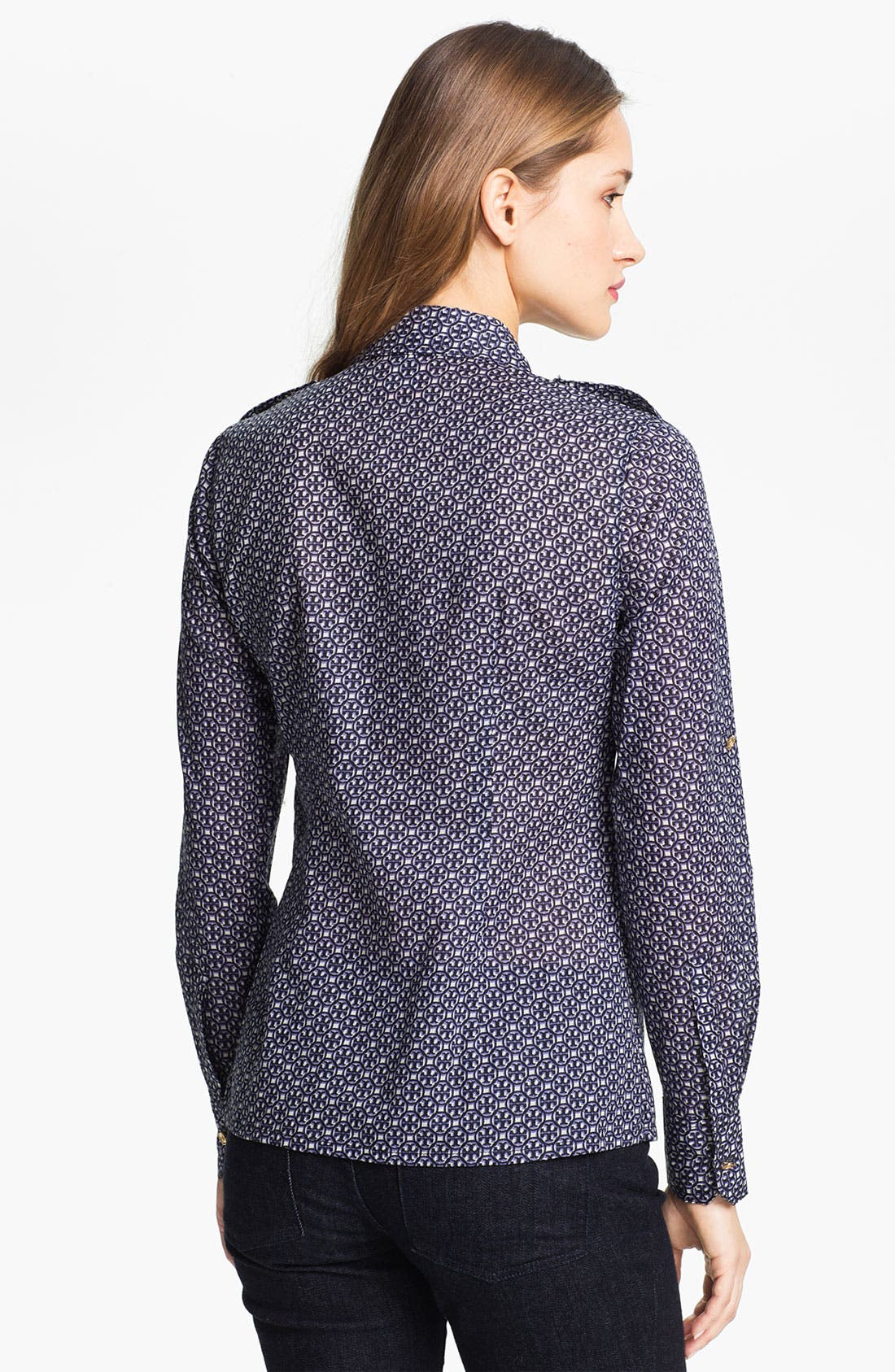Alternate Image 2  - Tory Burch 'Brigitte' Cotton Shirt