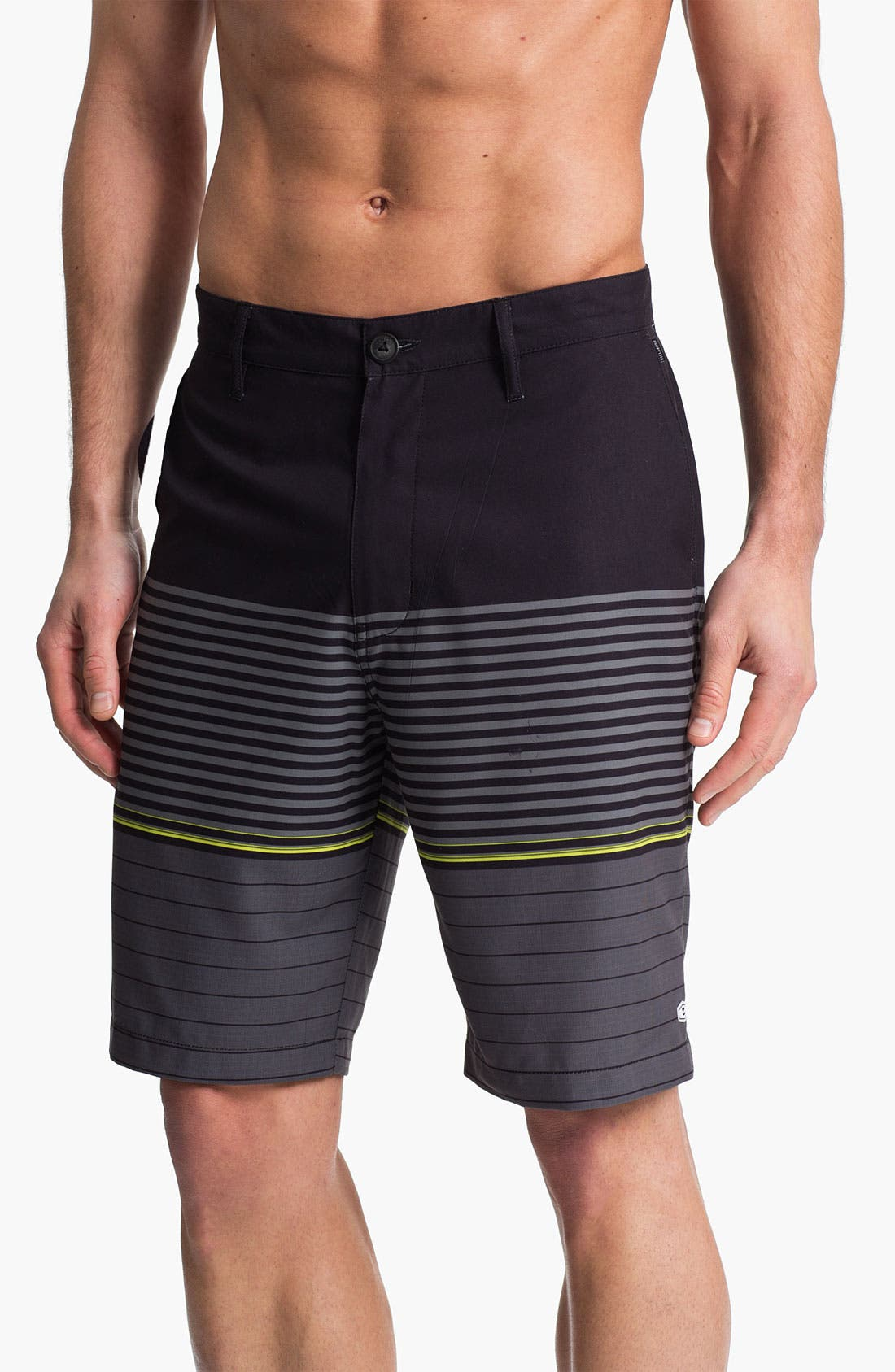 Alternate Image 1 Selected - Billabong 'Stacked' Hybrid Shorts (Online Exclusive)
