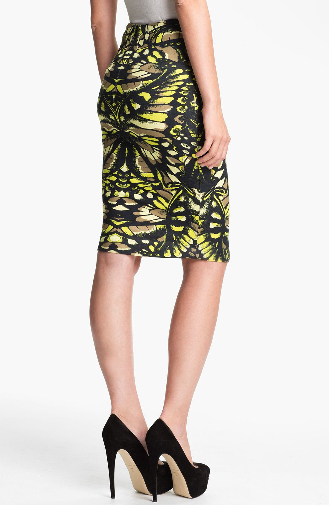 Alternate Image 2  - McQ by Alexander McQueen Print Skirt