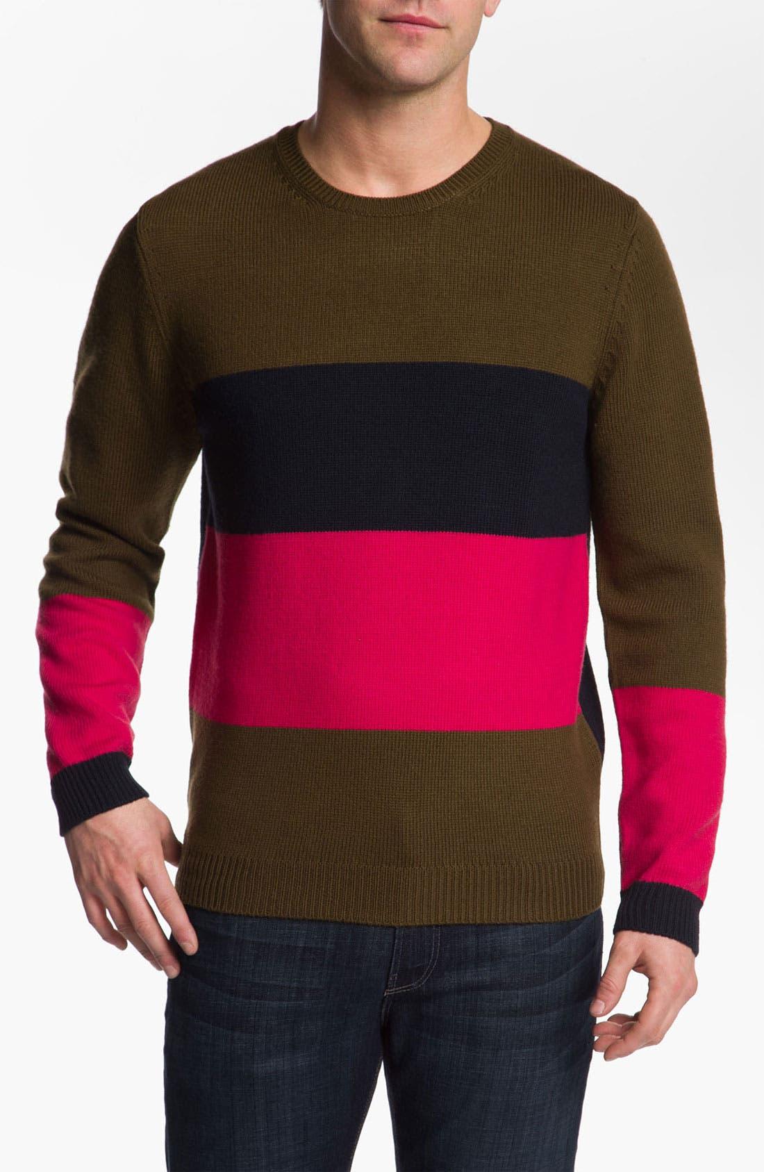 Alternate Image 1 Selected - MARC BY MARC JACOBS 'Freddie' Wool Crewneck Sweater