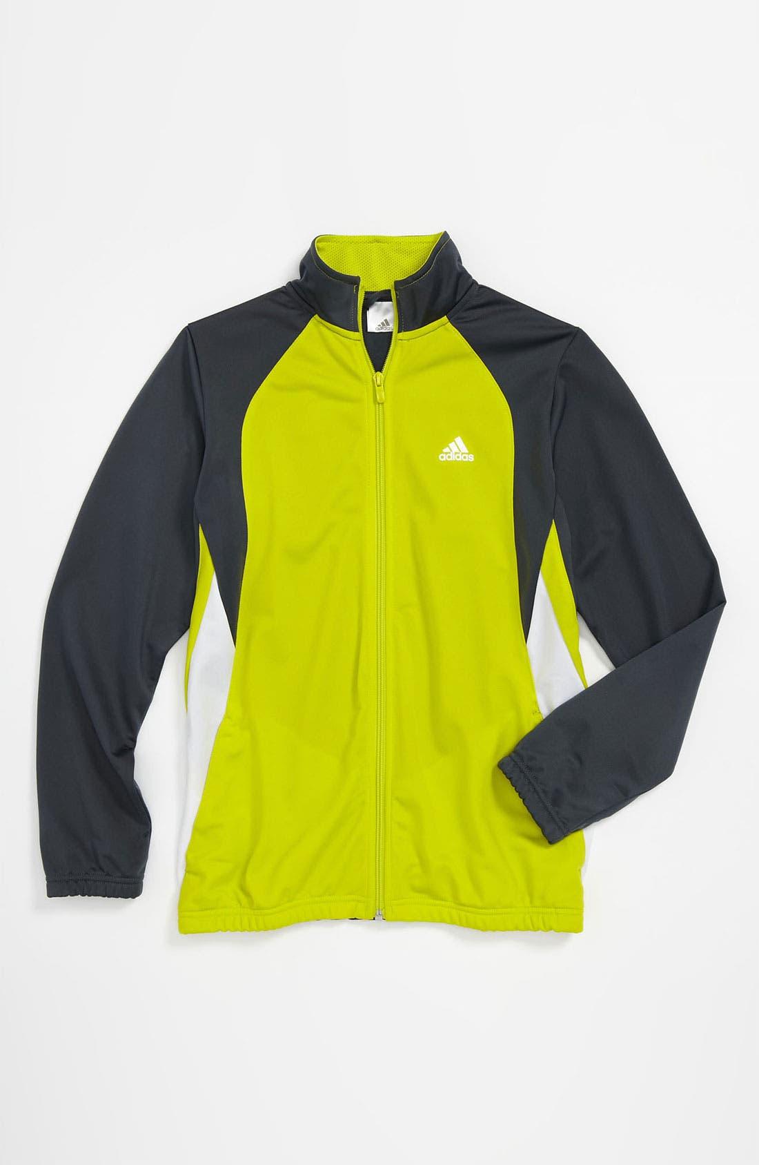 Main Image - adidas Tricot Track Jacket (Big Boys)