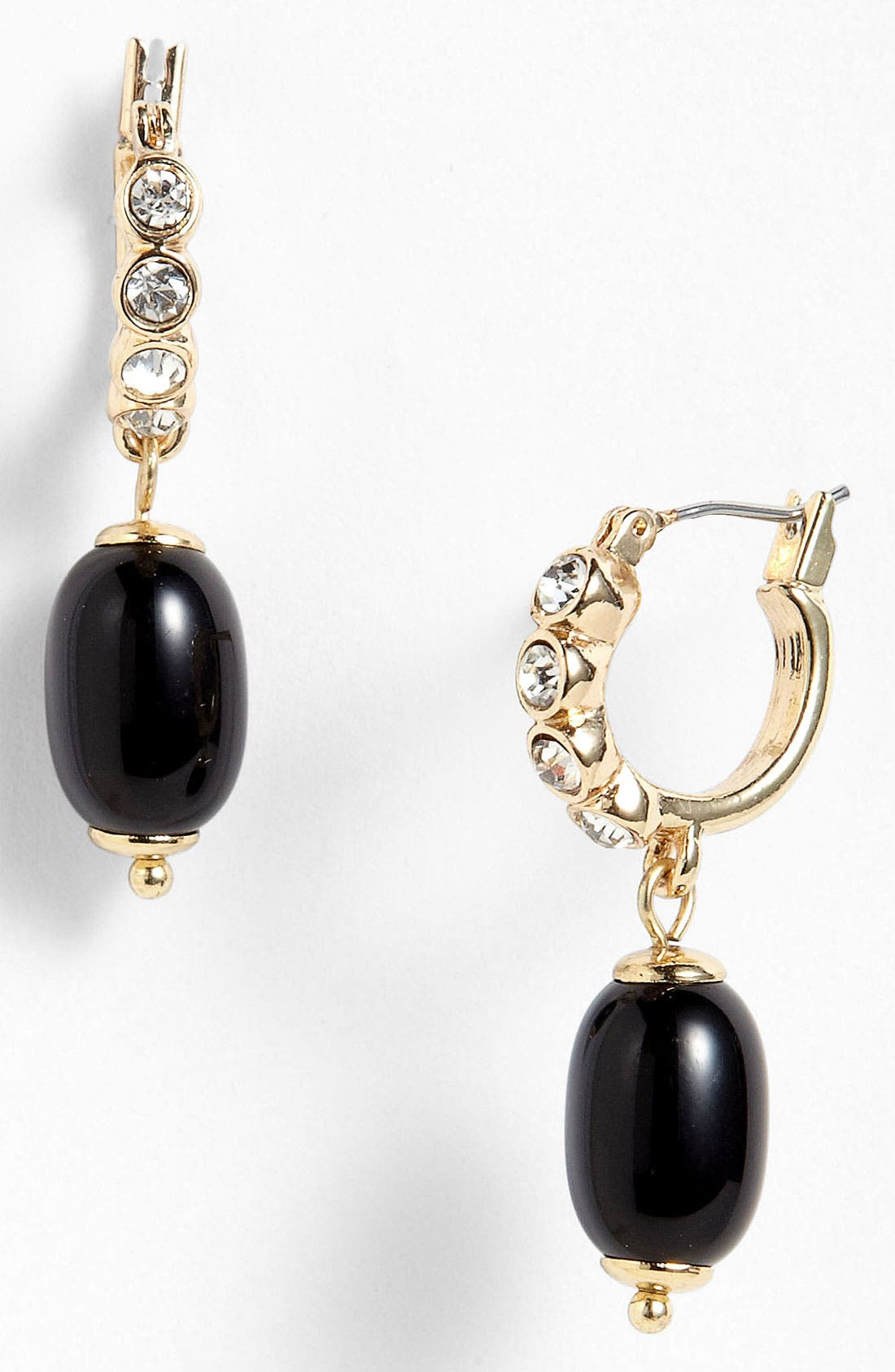 Main Image - Anne Klein 'Alder' Hoop Drop Earrings