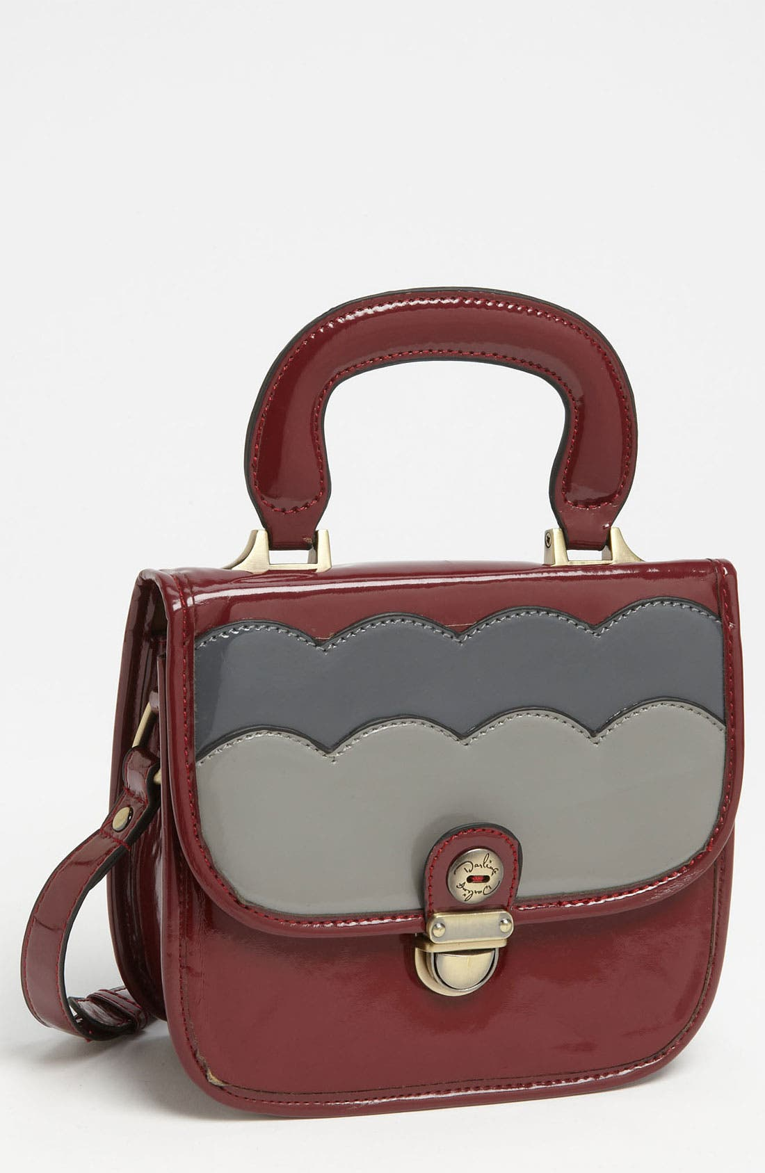 Alternate Image 1 Selected - Darling 'Whitney' Top Handle Crossbody Satchel