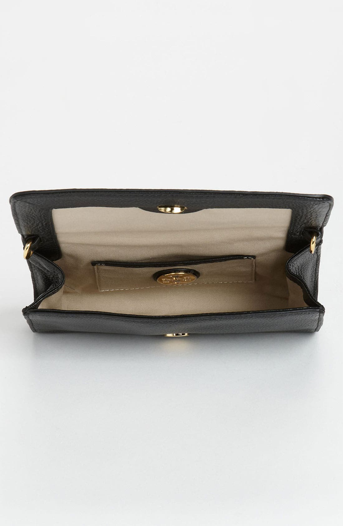 Alternate Image 3  - Tory Burch 'Small' Perforated Logo Leather Clutch
