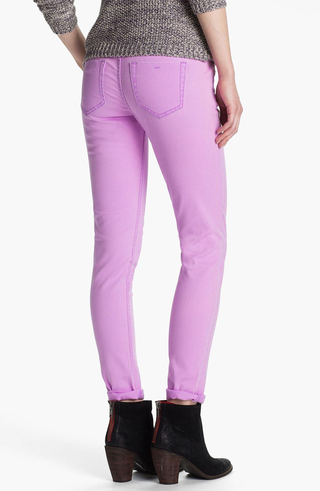 Main Image - Fire Skinny Jeans (Juniors)