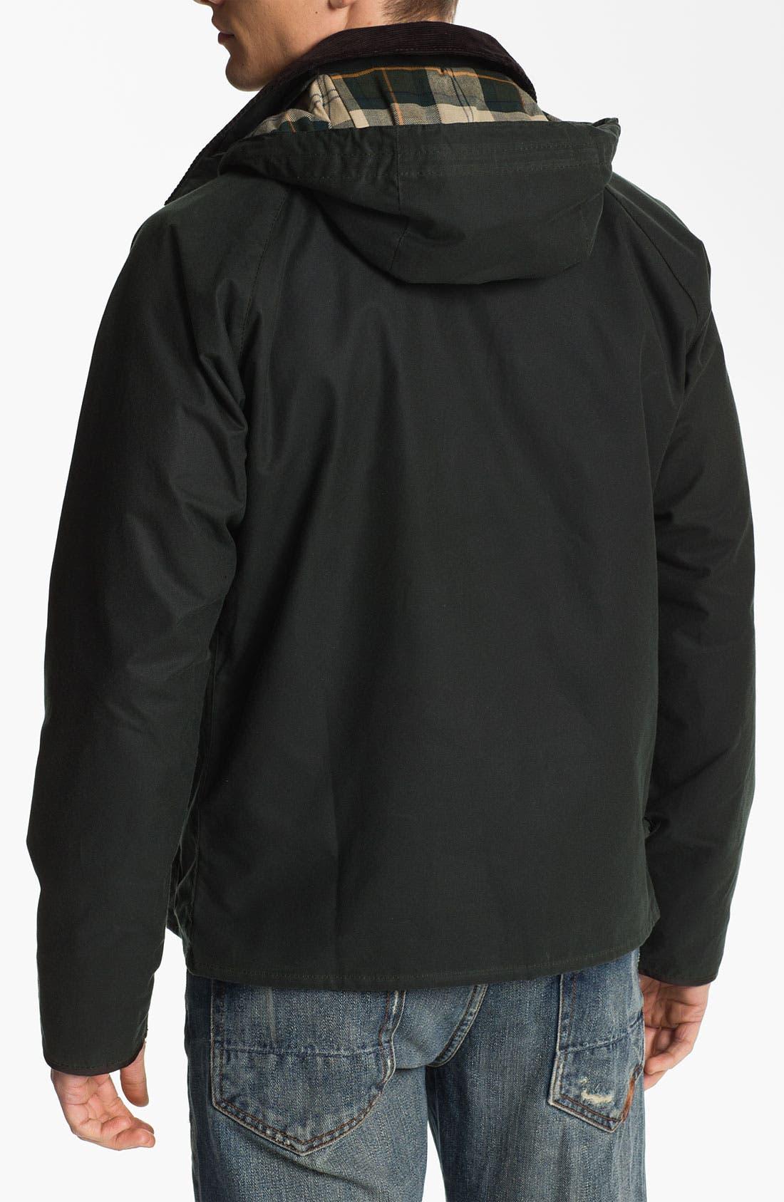 Alternate Image 2  - Barbour 'Standen' Hooded Jacket