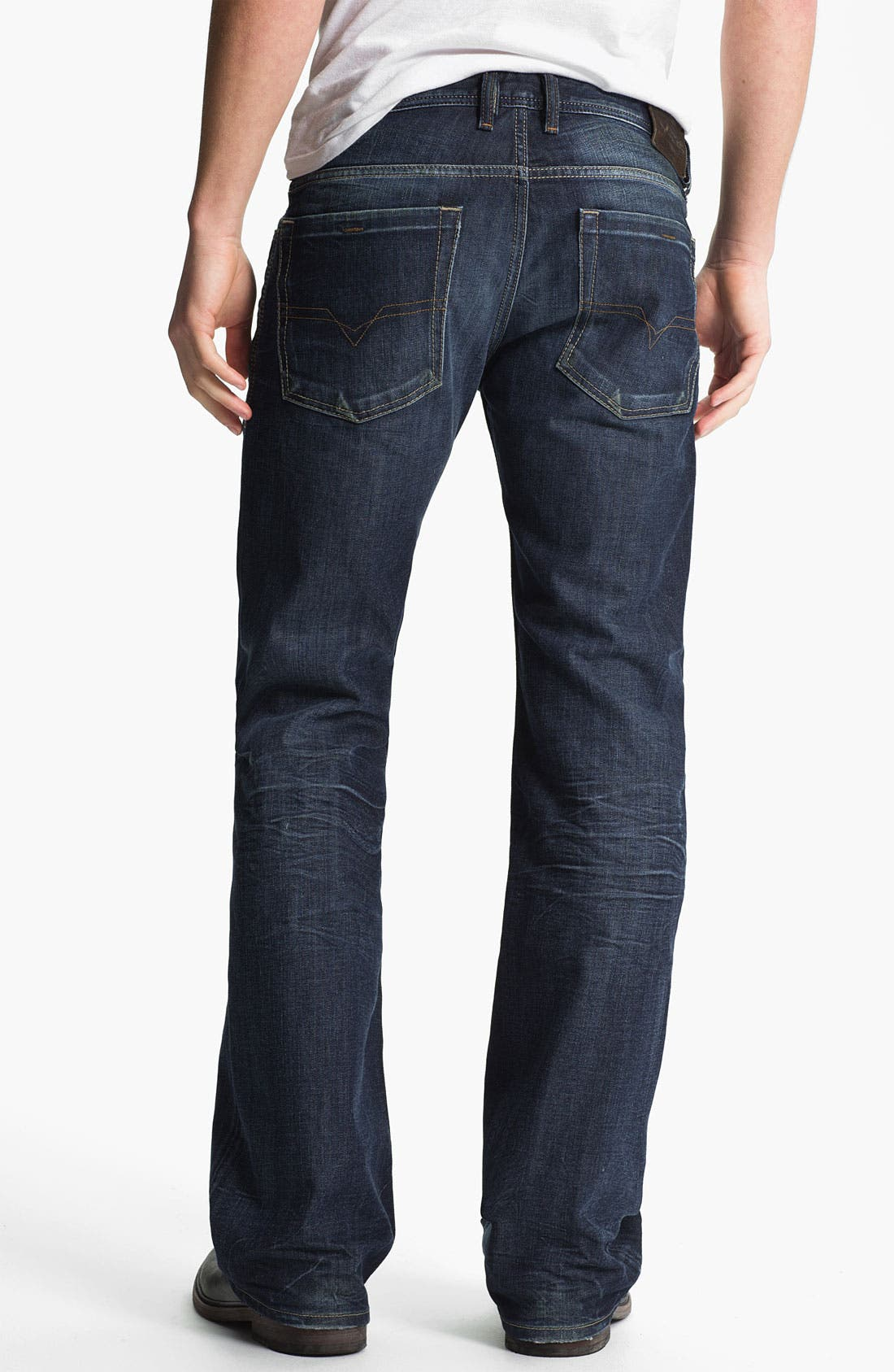 Alternate Image 1 Selected - DIESEL® 'Zathan' Bootcut Jeans (0806U)