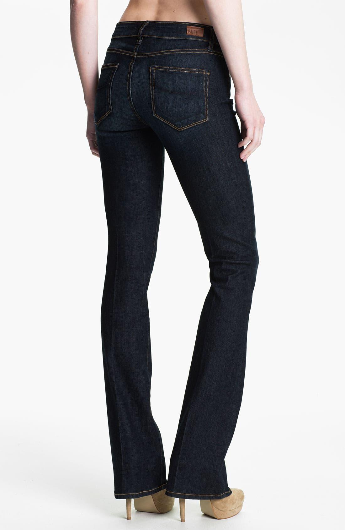 Alternate Image 2  - Paige Denim 'Manhattan' Baby Bootcut Jeans (Carson)