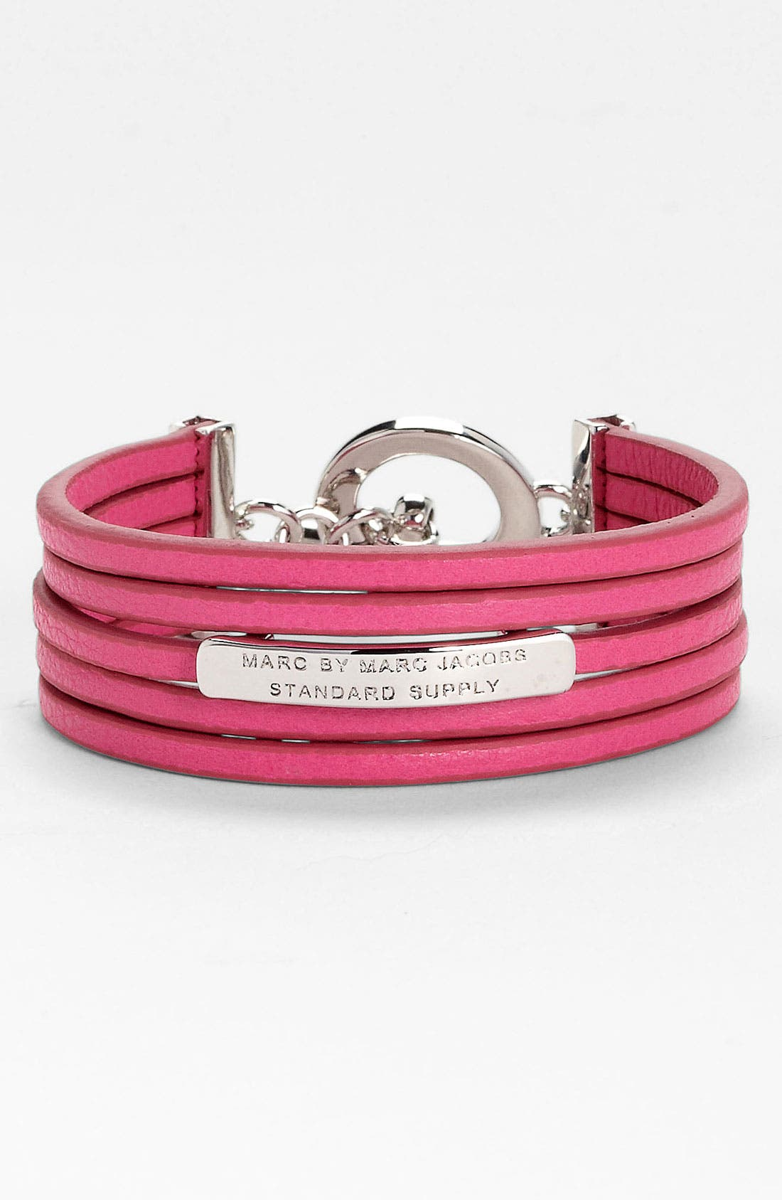Alternate Image 1 Selected - MARC BY MARC JACOBS Multistrand Leather Bracelet