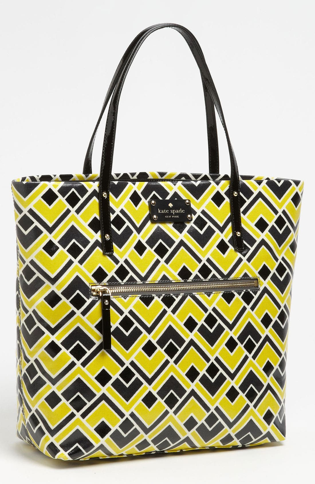 Alternate Image 1 Selected - kate spade new york 'flicker' coated canvas bon shopper