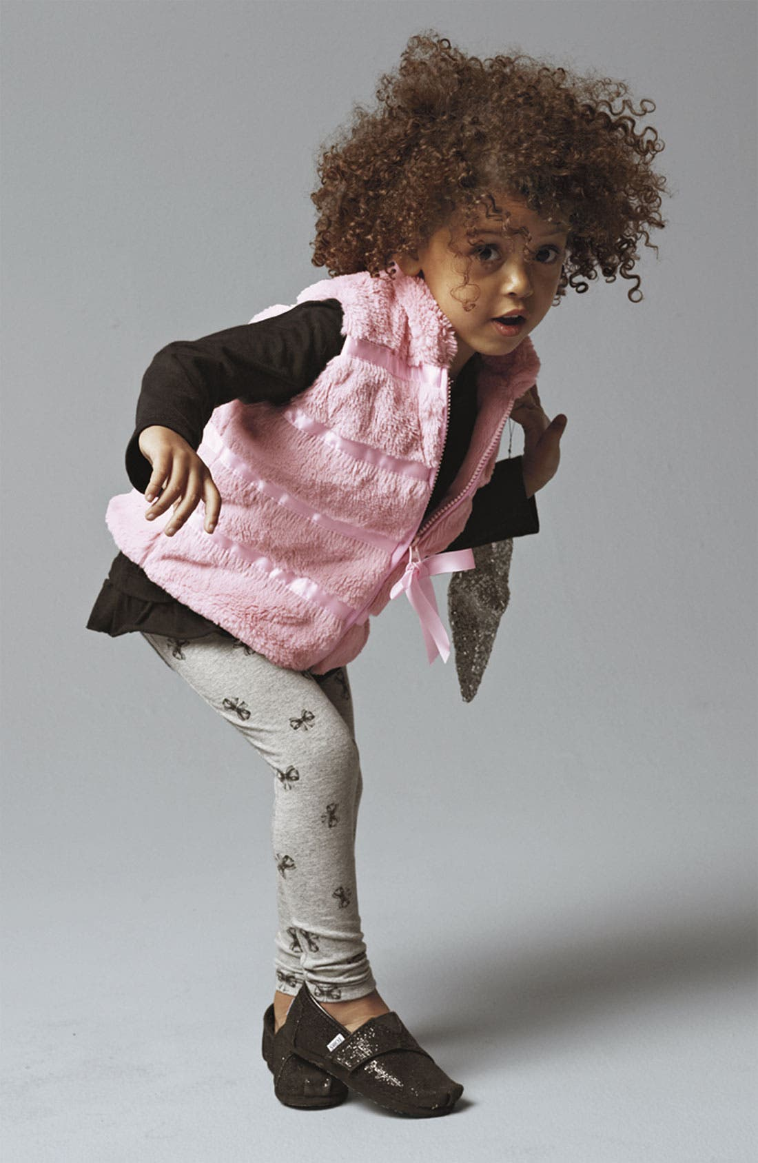 Alternate Image 2  - Widgeon Faux Fur Vest (Toddler)