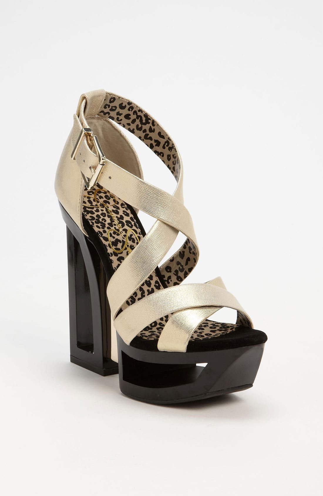 Alternate Image 1 Selected - Jessica Simpson 'Thunder' Sandal