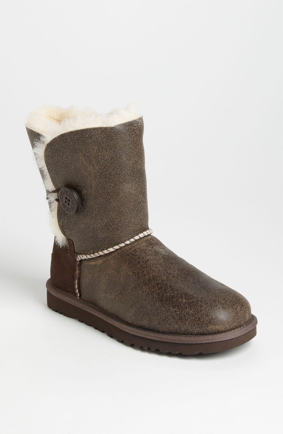 Alternate Image 1 Selected - UGG® Australia 'Bailey Button Bomber' Boot (Women)