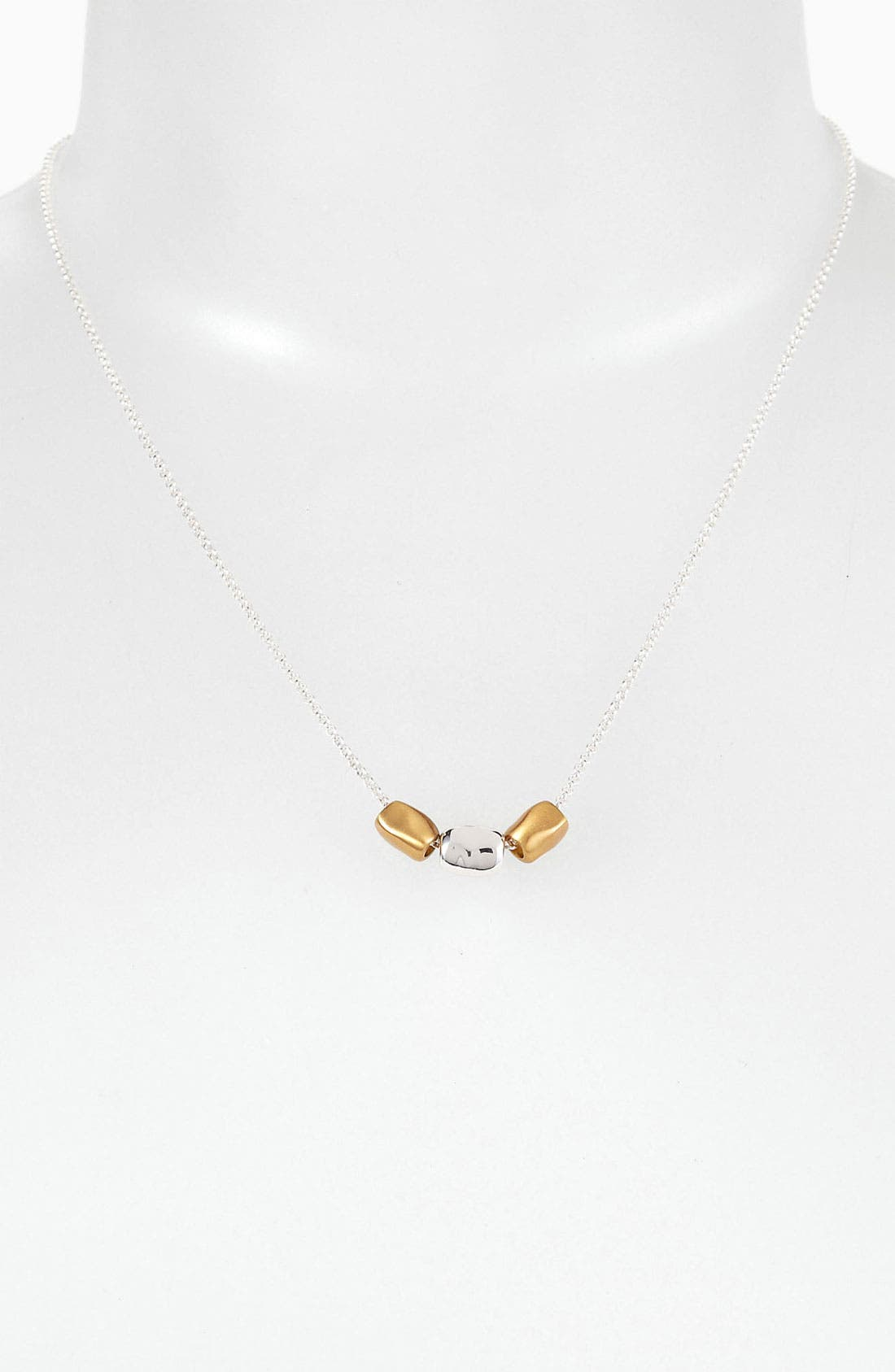 Main Image - Argento Vivo 'Bauble Bar' Two Tone Necklace (Nordstrom Exclusive)