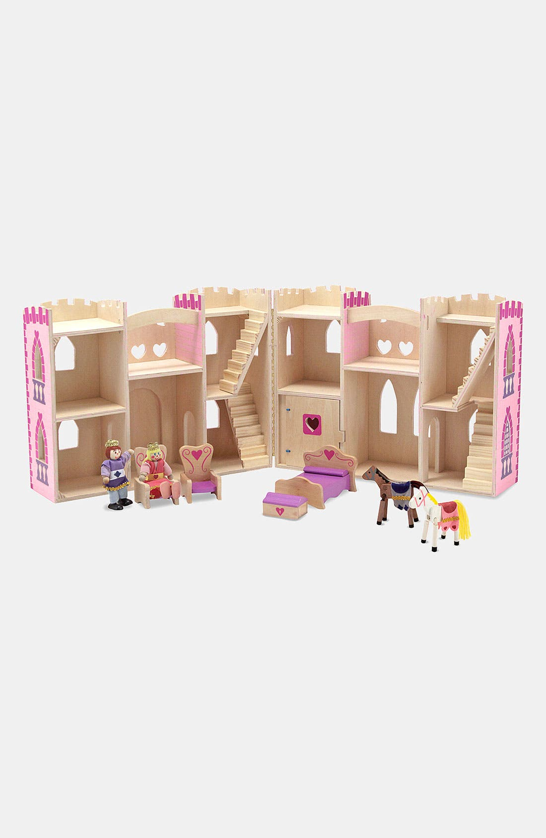 Alternate Image 2  - Melissa & Doug Fold & Go Princess Castle