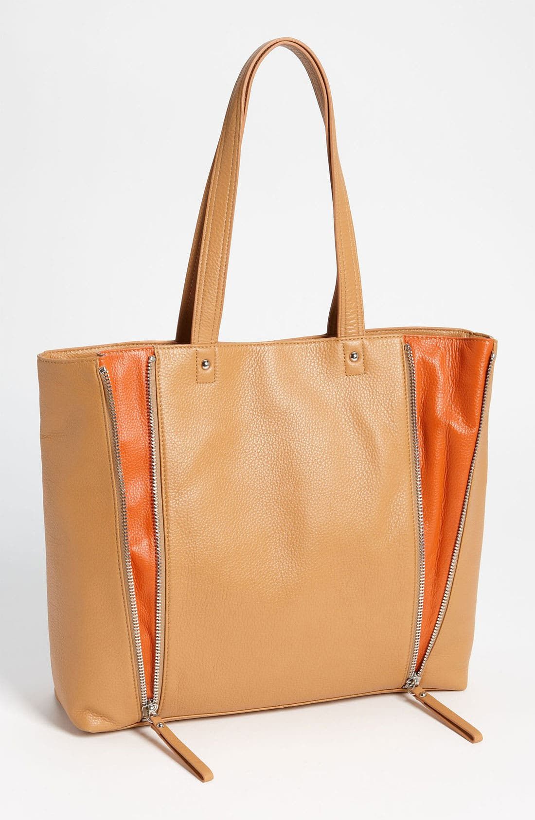 Alternate Image 1 Selected - Halogen® 'Zooey' Leather Tote