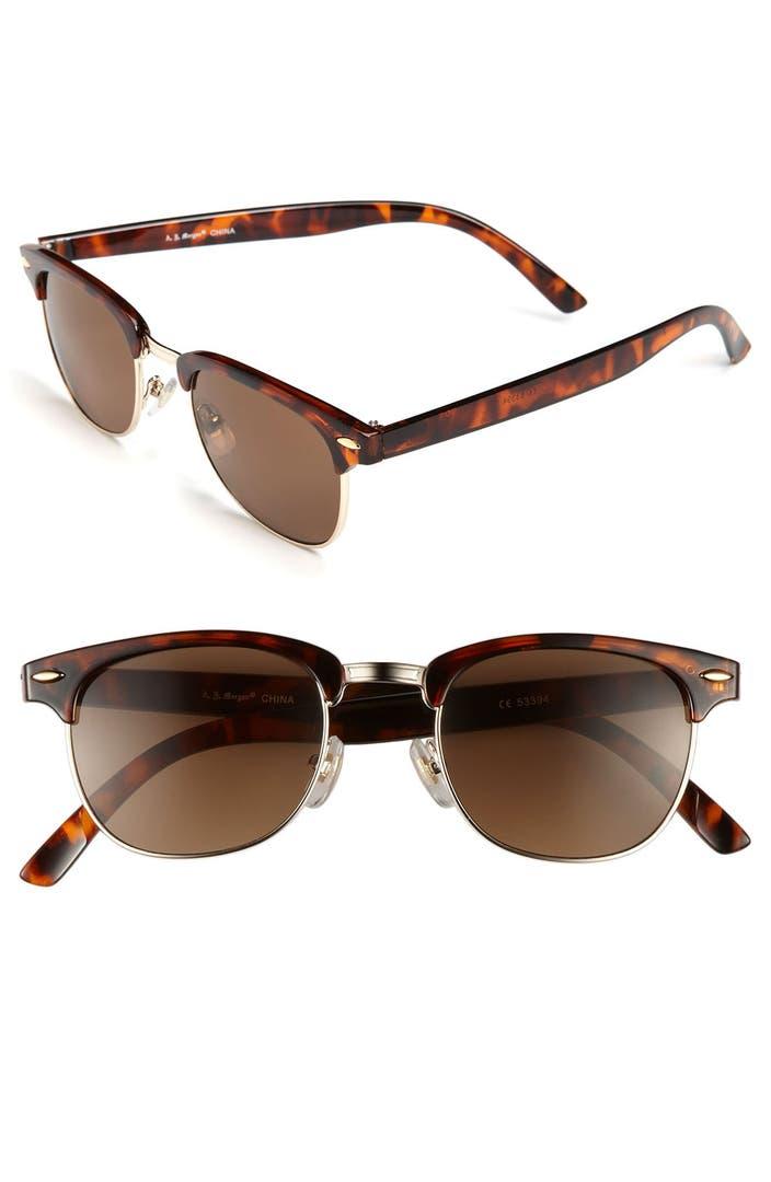 A J Morgan 52mm Soho Sunglasses Nordstrom