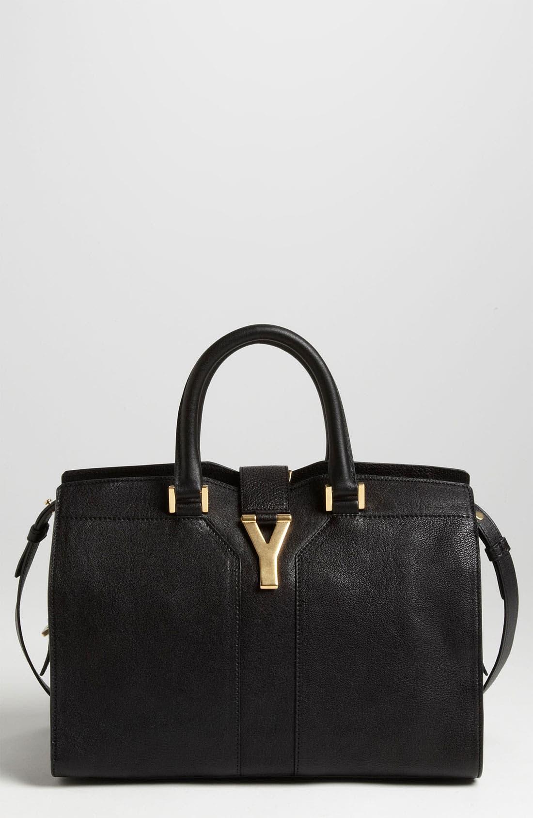 Alternate Image 1 Selected - Saint Laurent Paris 'Cabas Chyc - Mini' Leather