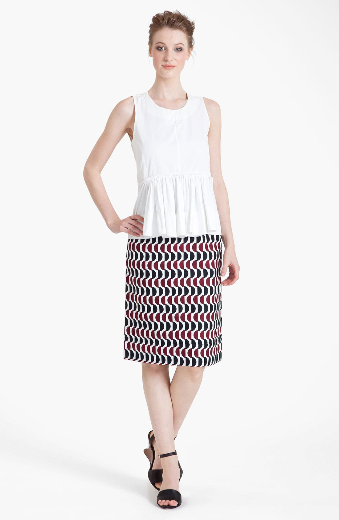Alternate Image 3  - Marni Pleated Poplin Top