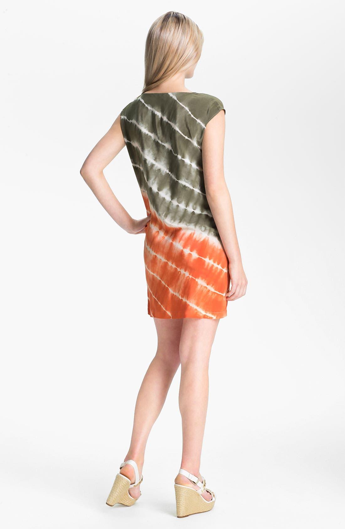 Alternate Image 2  - MICHAEL Michael Kors Tie Dye Silk Dress