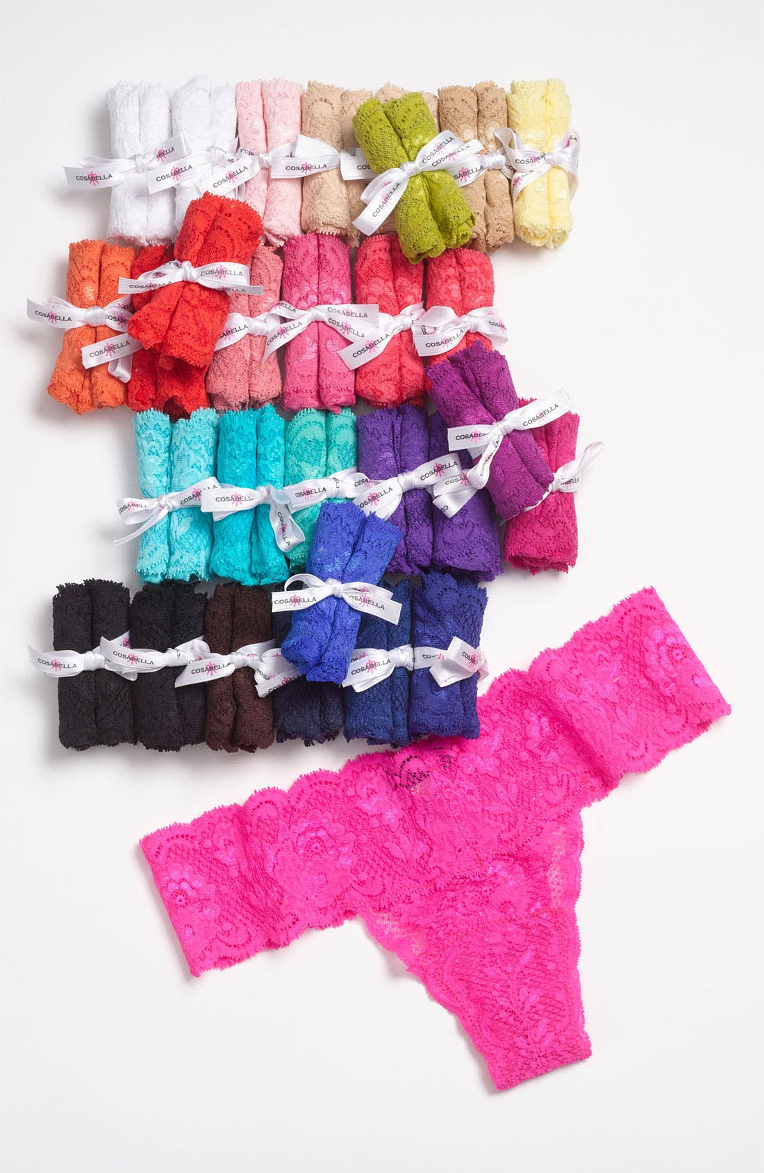 Alternate Image 3  - Cosabella '30 Years of Color Cutie' Low Rise Thong (30-Pack) ($600 Value)