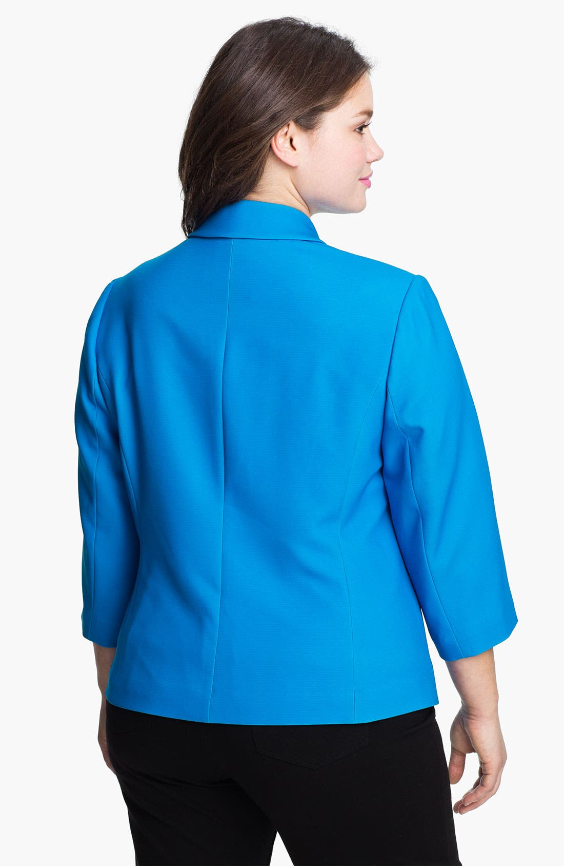 Alternate Image 2  - Sejour 'Ava' Open Stretch Jacket (Plus)