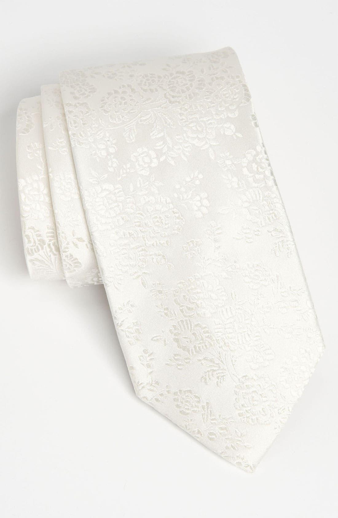 Main Image - Duchamp Woven Silk Tie