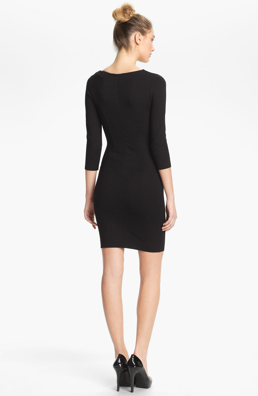 Alternate Image 2  - French Connection 'Classic Milla' V-Neck Sheath Dress