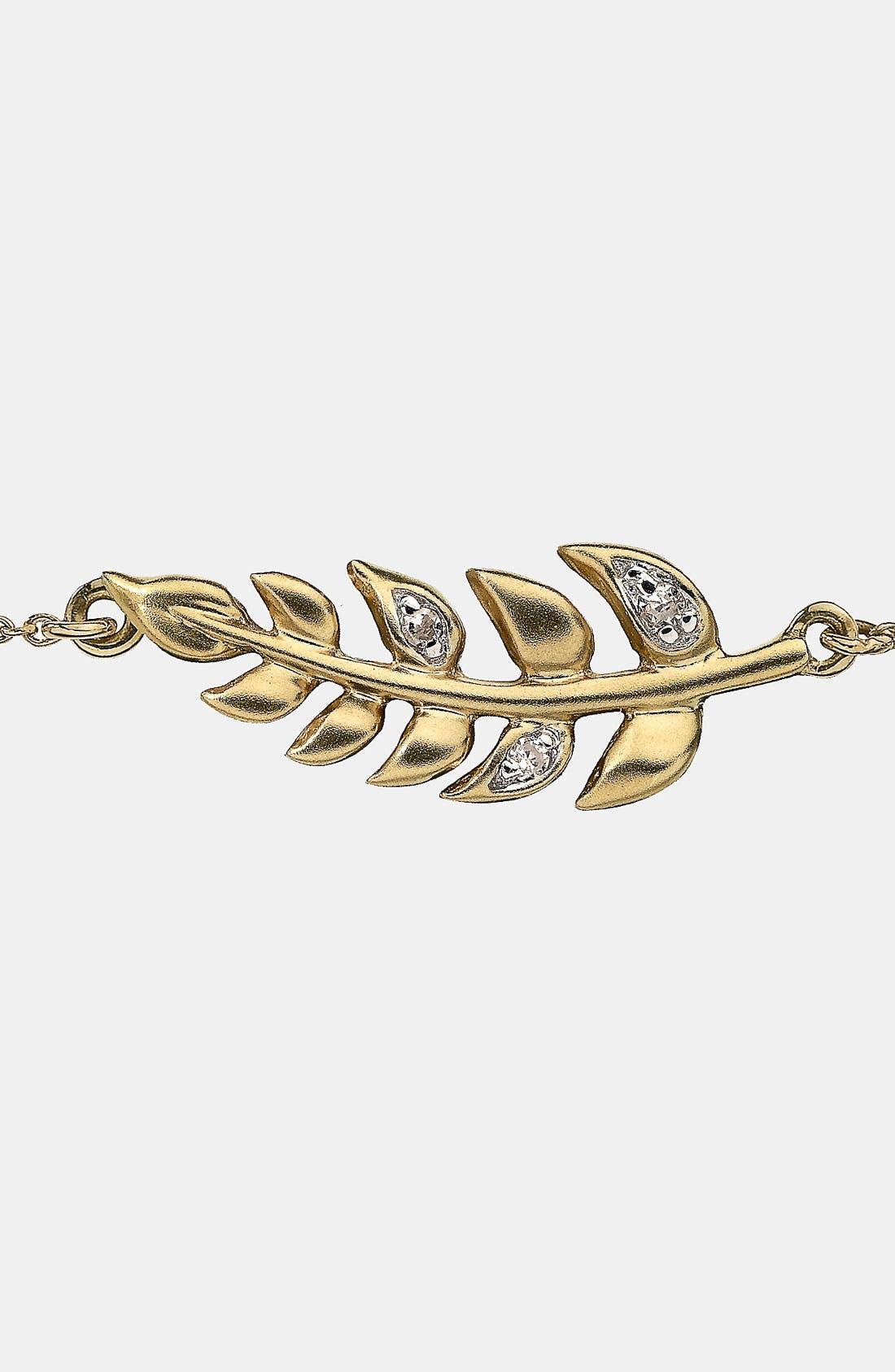 Alternate Image 2  - Whitney Stern Leaf Bracelet
