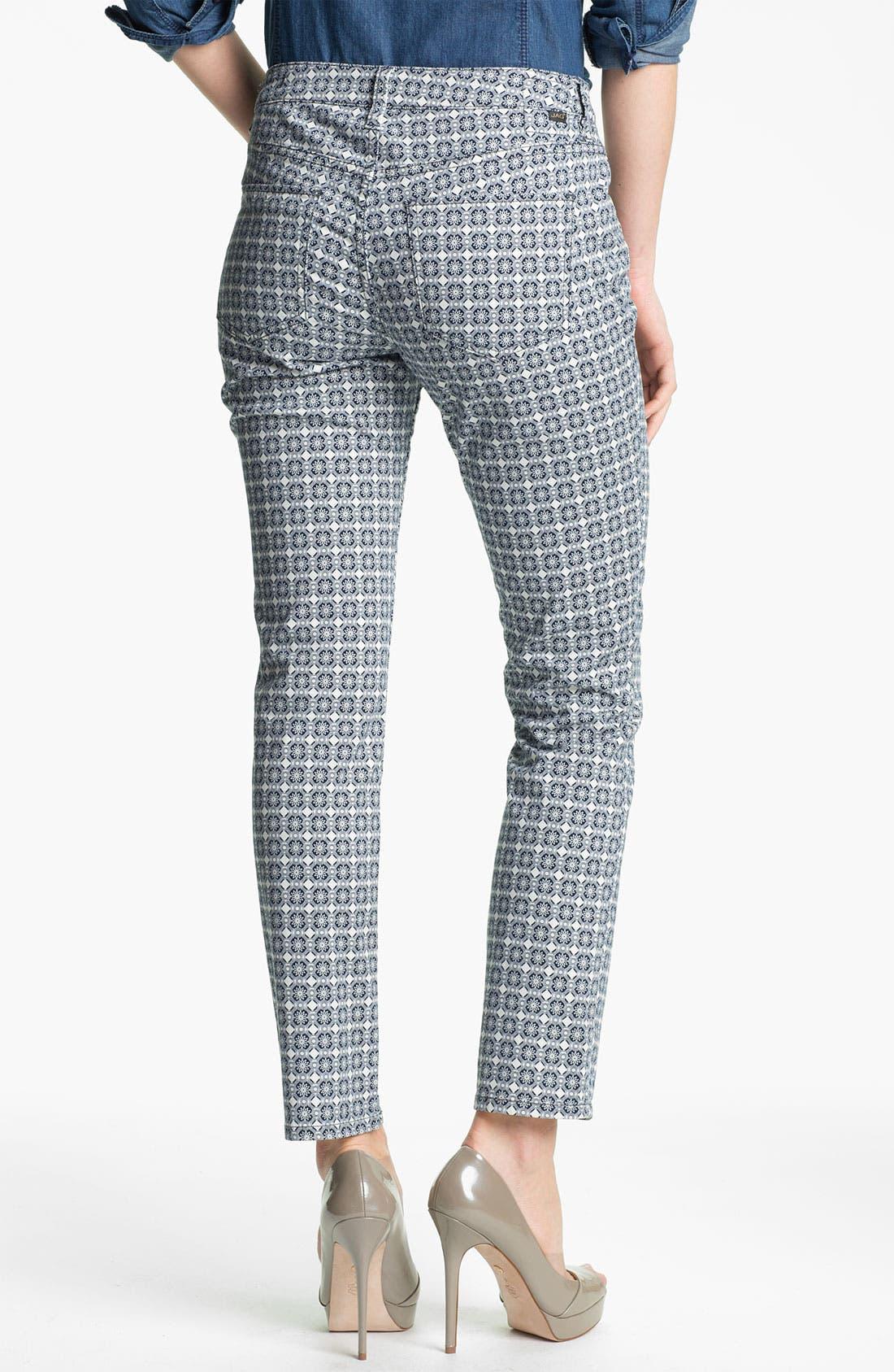 Alternate Image 2  - Jag Jeans 'Chloe - Graphic Halle' Print Skinny Jeans