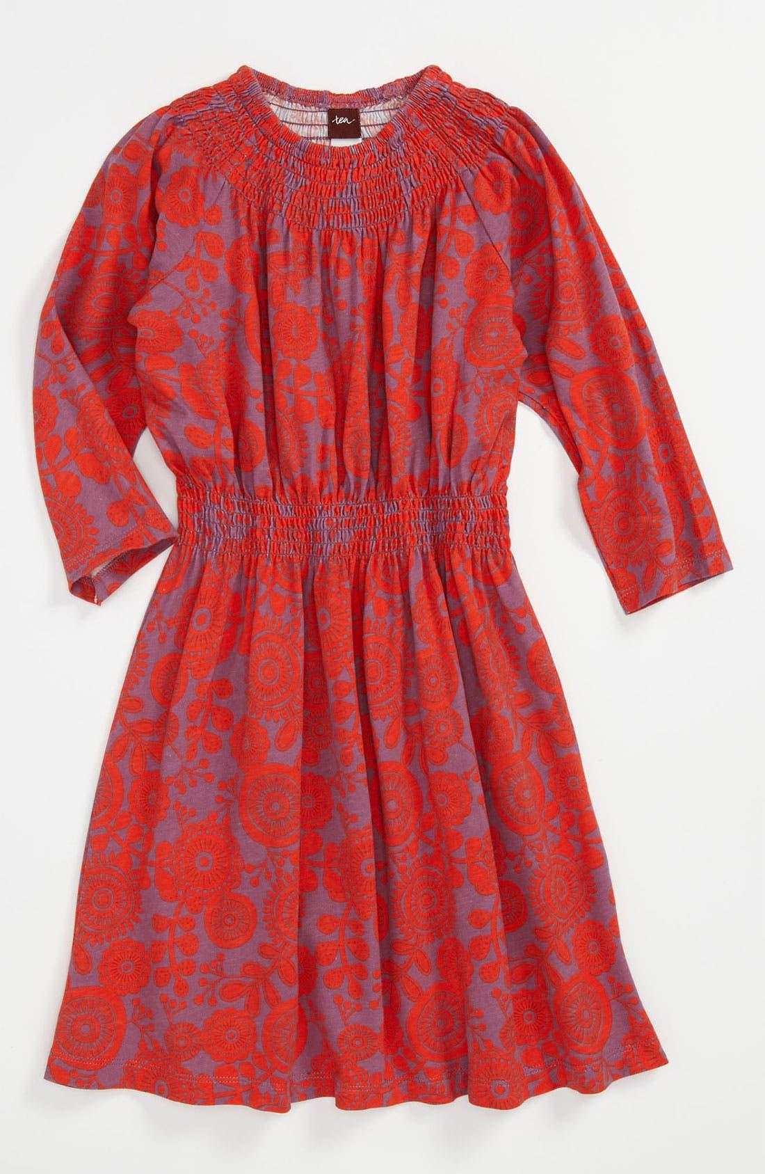 Alternate Image 1 Selected - Tea Collection Smocked Dress (Little Girls & Big Girls)