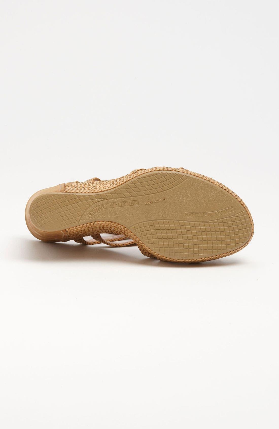 Alternate Image 4  - Stuart Weitzman 'Reins' Sandal