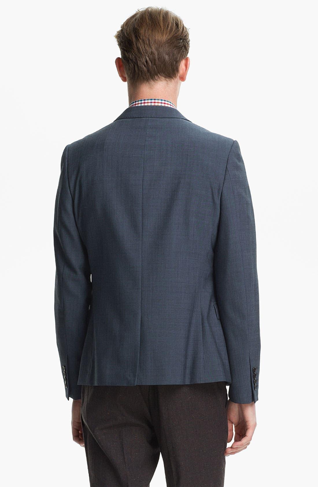 Alternate Image 2  - Topman Skinny Blazer
