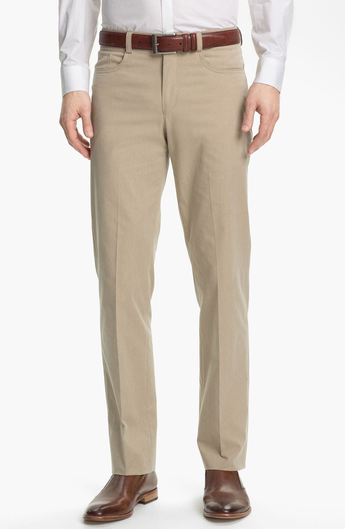 Alternate Image 1 Selected - John Varvatos Star USA Five Pocket Trousers