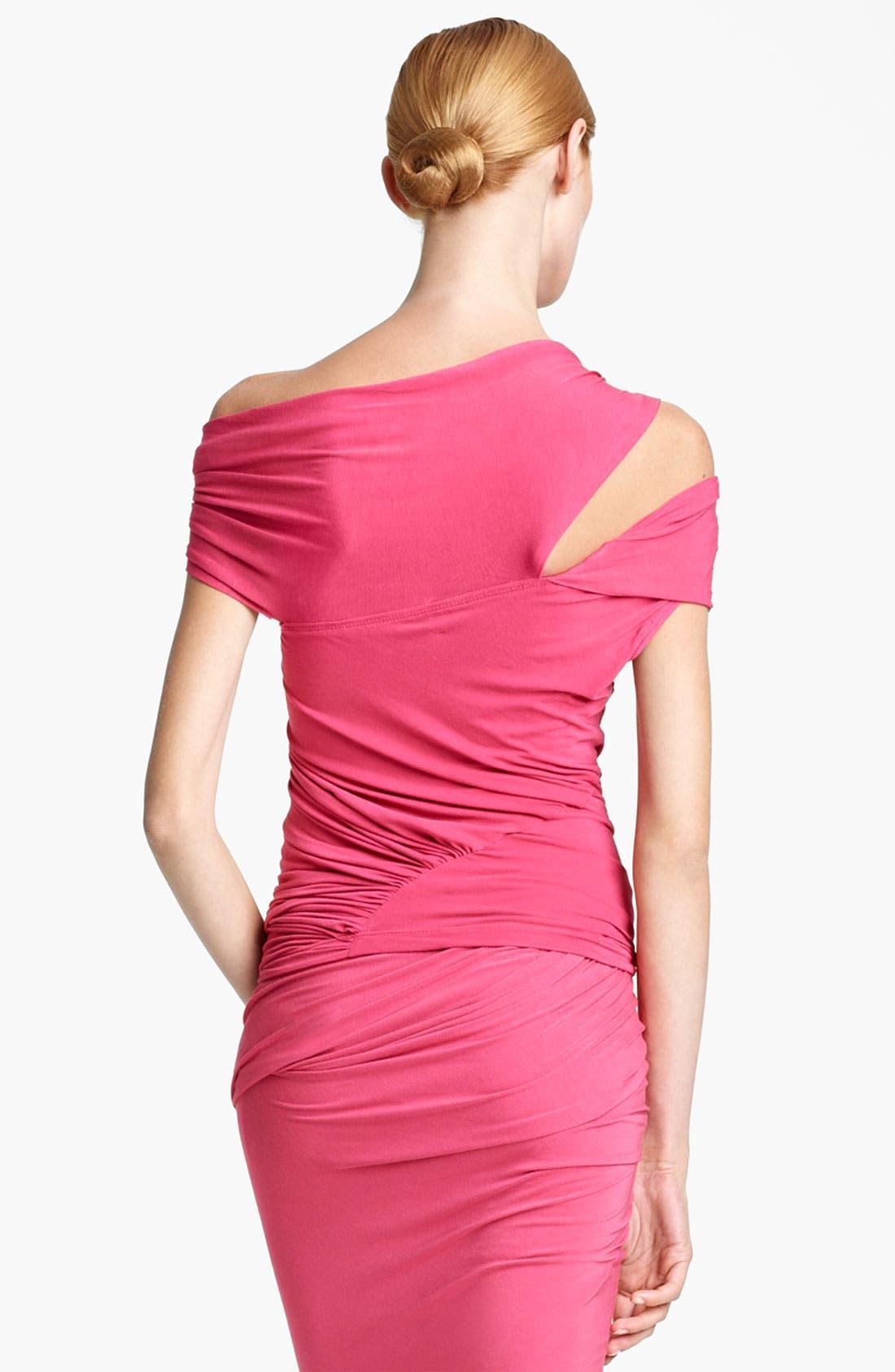 Alternate Image 3  - Donna Karan Collection Cold Shoulder Jersey Top