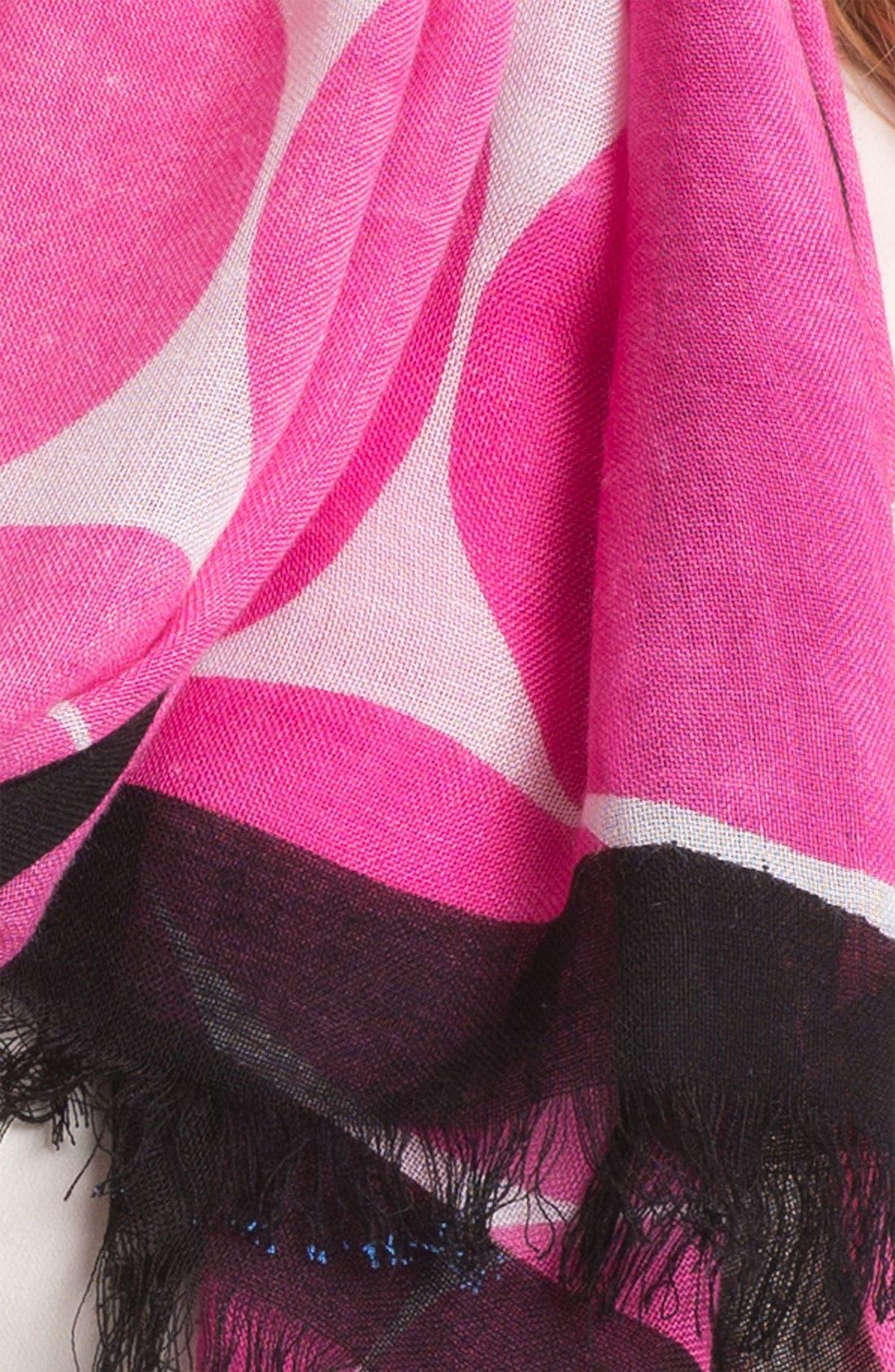 Alternate Image 3  - kate spade new york 'deborah' dot scarf