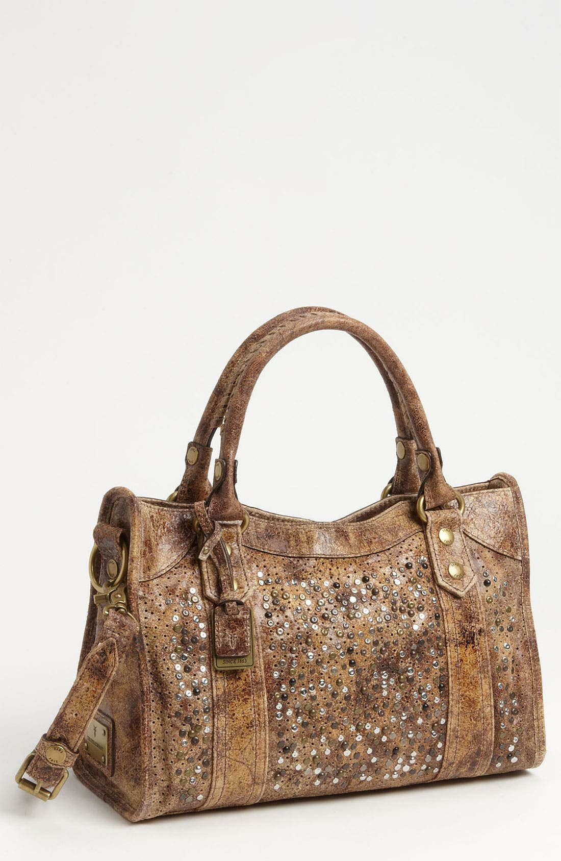 Alternate Image 1 Selected - Frye 'Deborah' Studded Satchel