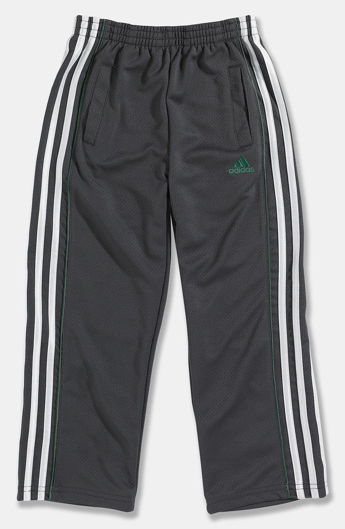 Alternate Image 1 Selected - adidas 'Midfield' Mesh Pants (Little Boys)