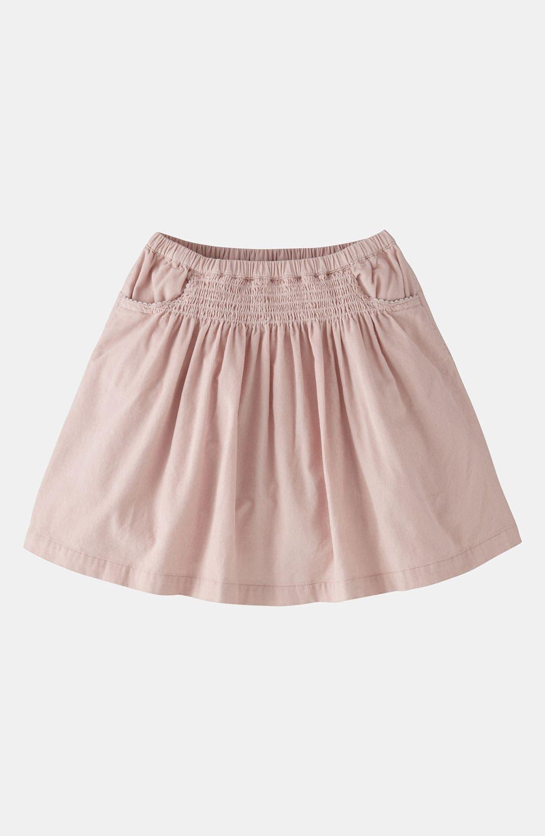 Alternate Image 1 Selected - Mini Boden 'Everyday' Corduroy Skirt (Little Girls & Big Girls)