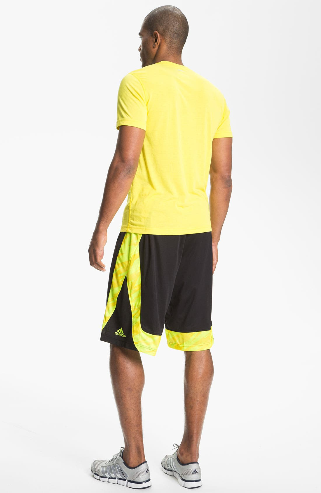 Alternate Image 2  - adidas T-Shirt & Shorts