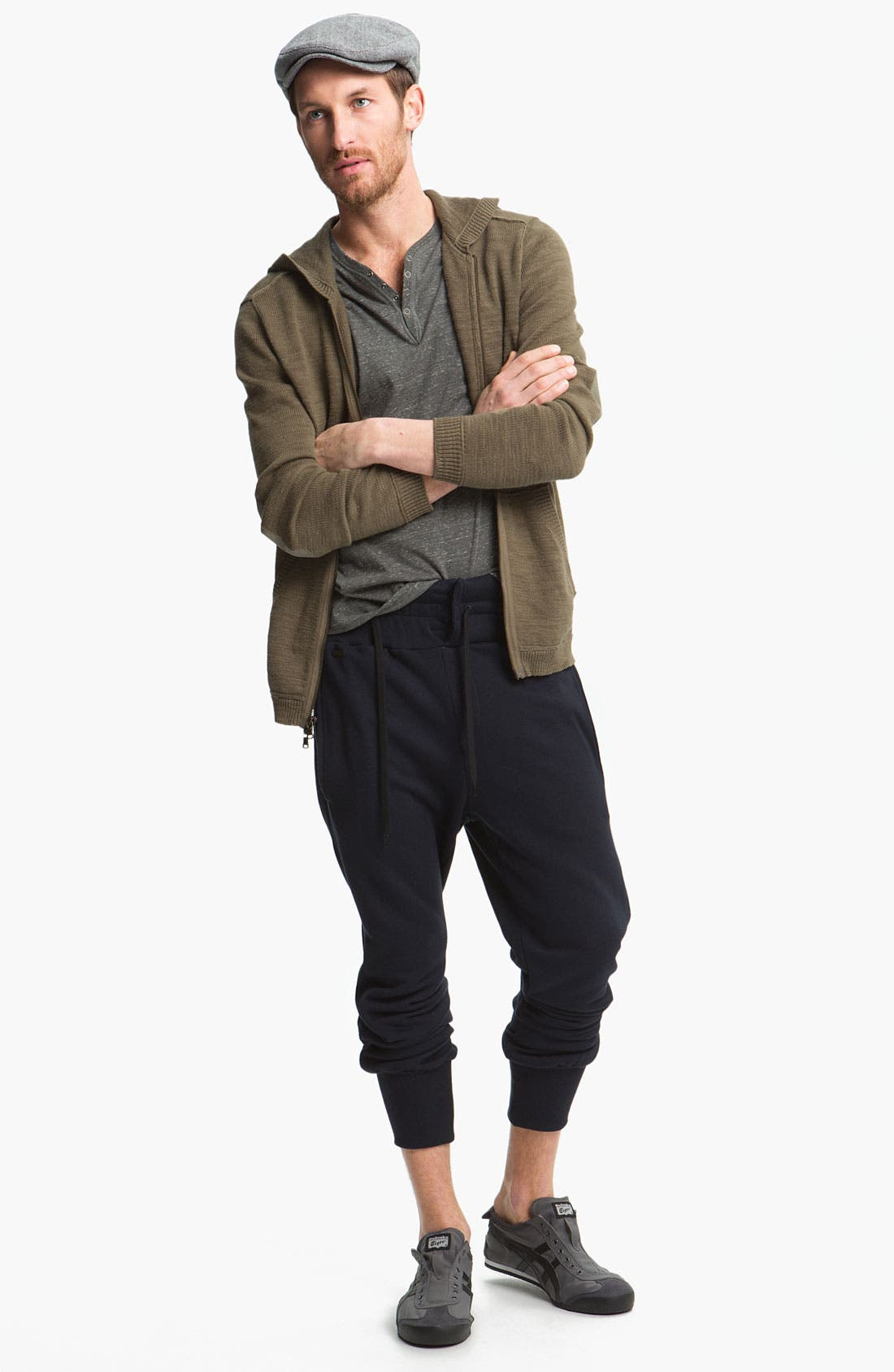 Alternate Image 2  - John Varvatos Star USA Zip Hoodie