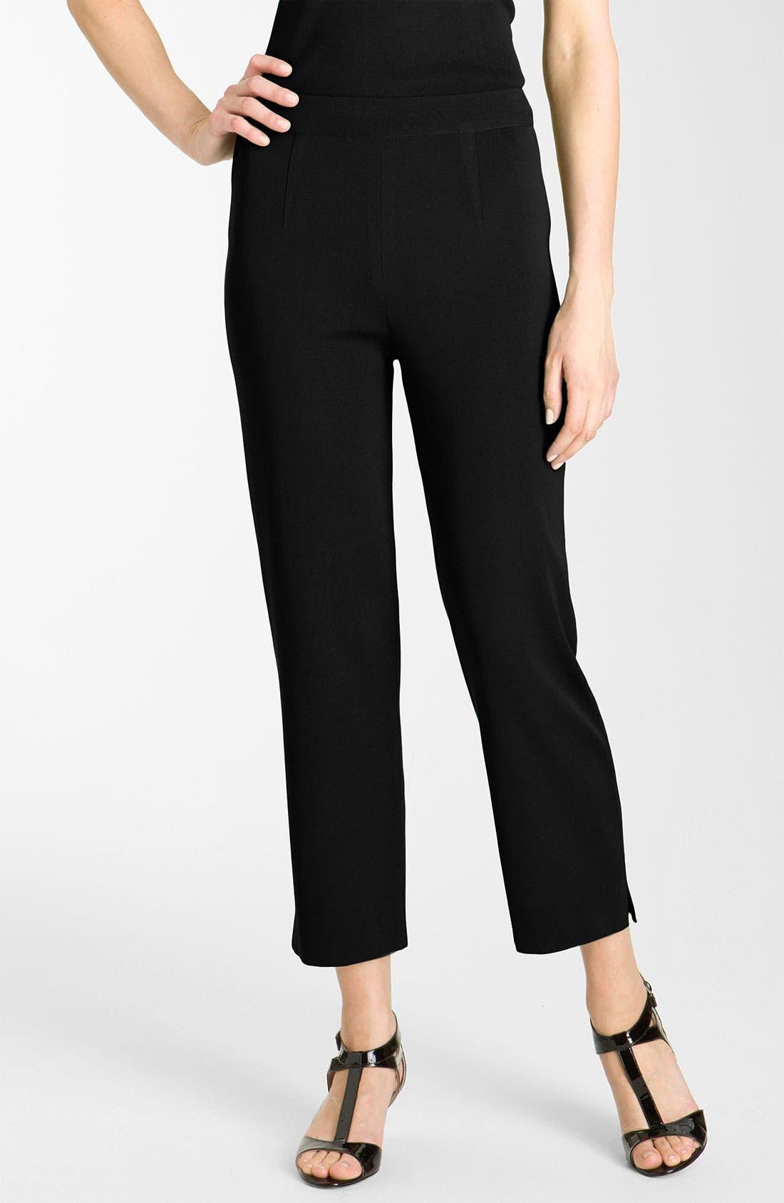 Alternate Image 1 Selected - Misook Capri Pants