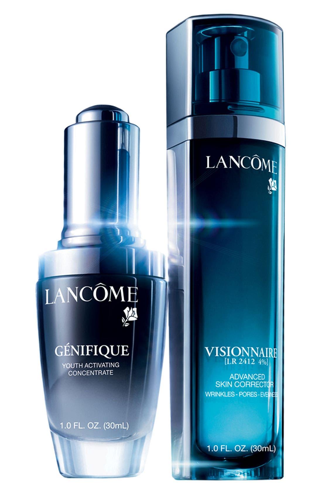 Alternate Image 1 Selected - Lancôme 'Génifique & Visionnaire' Serum Duo ($167 Value)