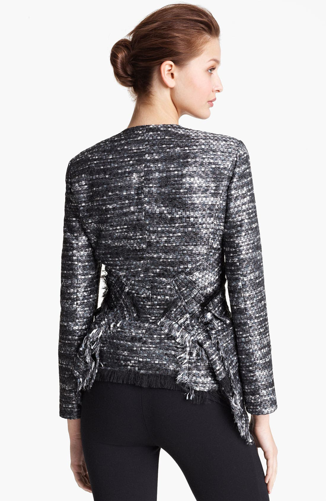 Alternate Image 2  - Donna Karan Collection Tweed Jacket
