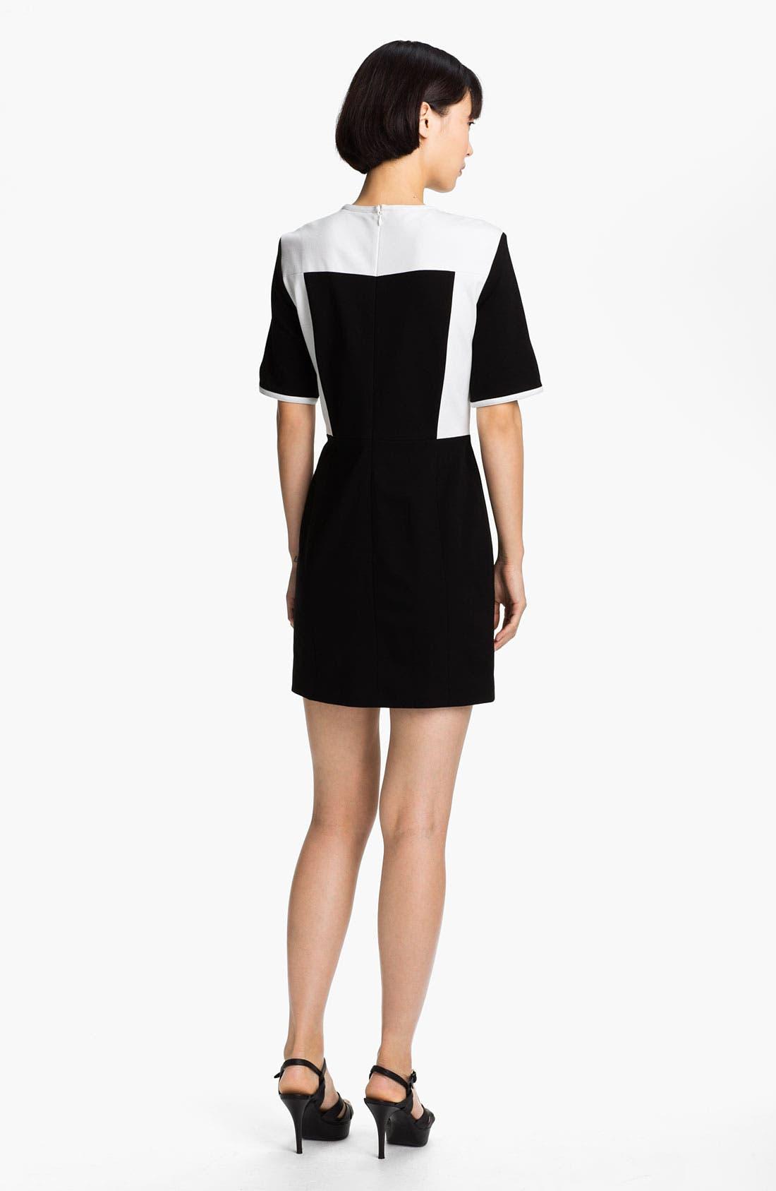 Alternate Image 2  - Tibi Colorblock Shift Dress