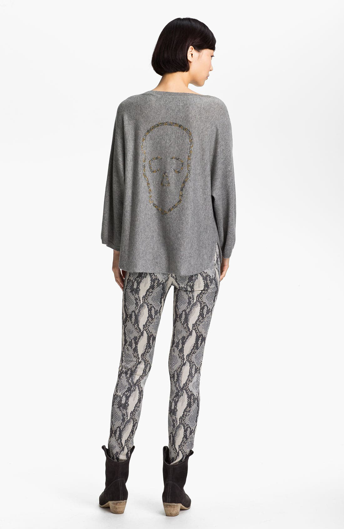 Alternate Image 2  - Zadig & Voltaire 'Banko' Embellished Cashmere Sweater