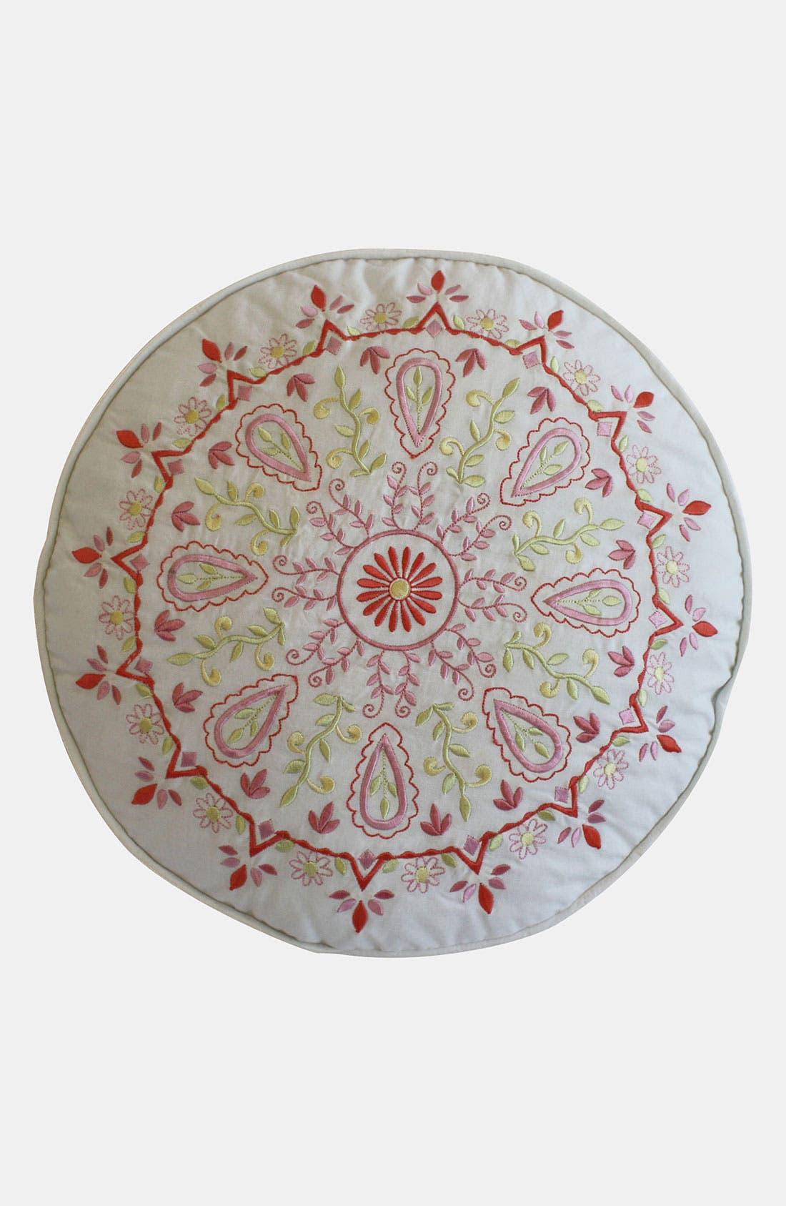 Alternate Image 1 Selected - Dena Home 'Dream Nest' Round Pillow
