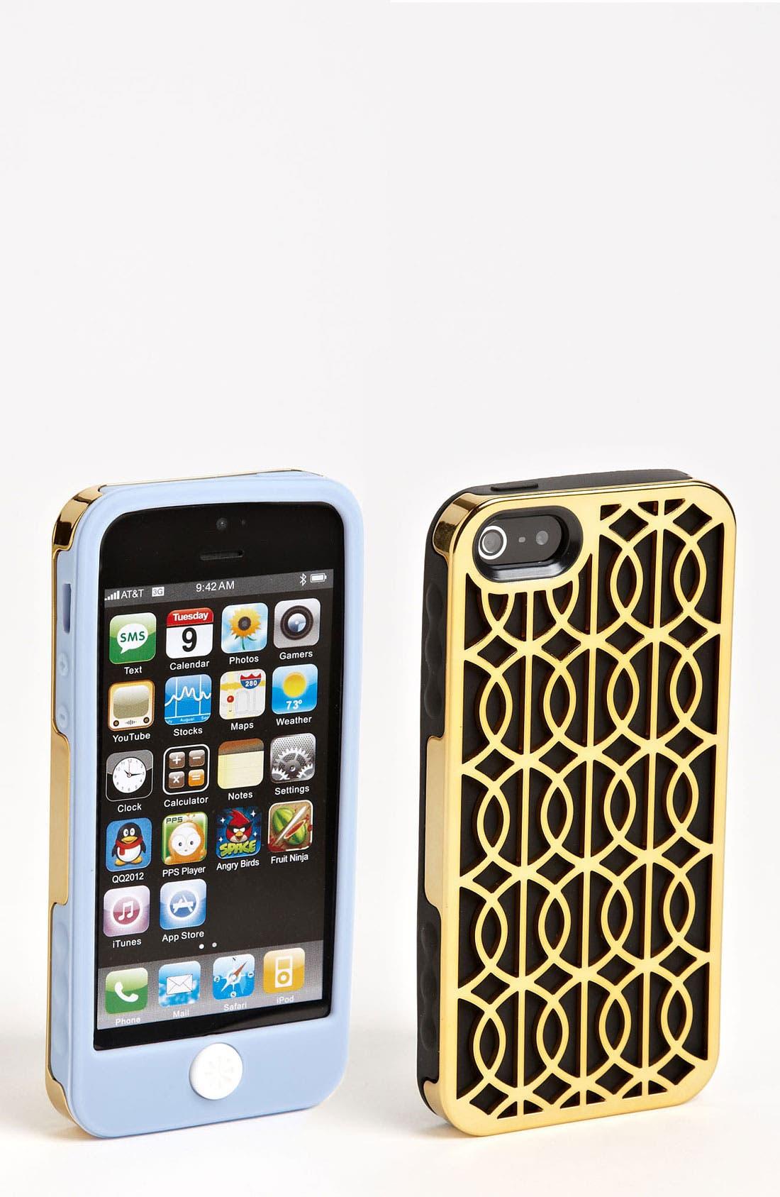 Main Image - Tech Candy Metallic iPhone 5 Case