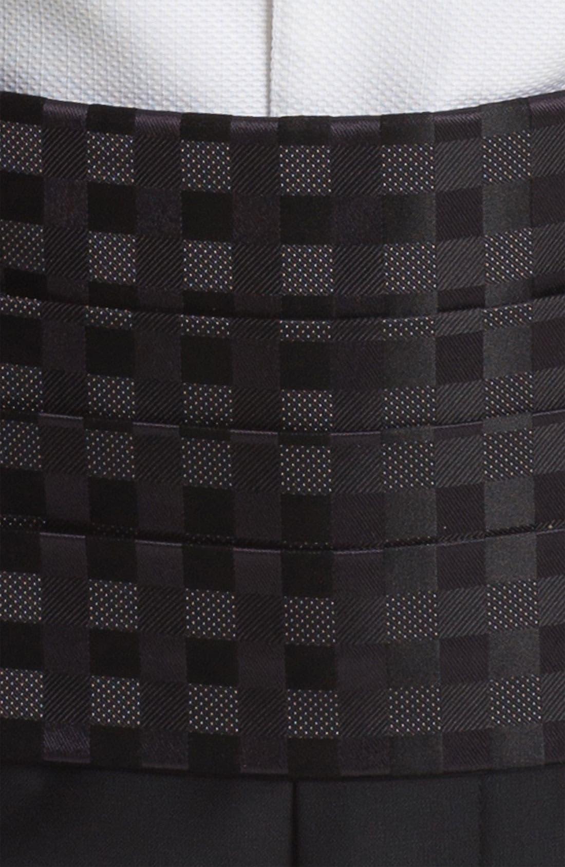 Alternate Image 2  - David Donahue Cummerbund & Bow Tie
